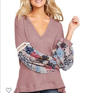 Sweaters - 🆕 Long Sleeve V Neck Pullover Sweater